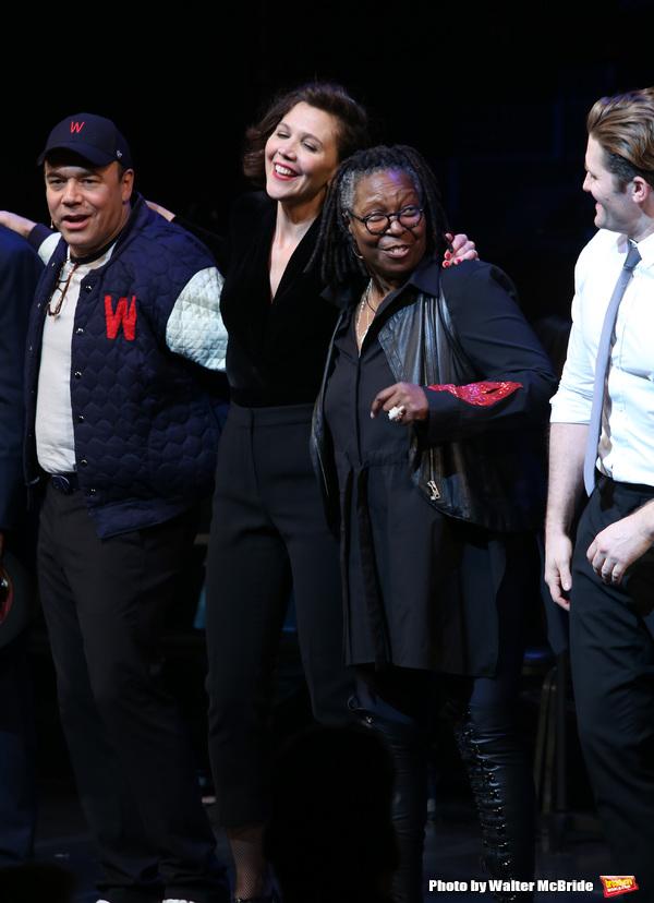 Danny Burstein, Maggie Gyllenhaal, Whoopi Goldberg, Matthew Morrison Photo