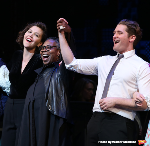 Photo Coverage: Maggie Gyllenhaal, Matthew Morrison & More Take Bows in Roundabout's DAMN YANKEES Benefit Concert!