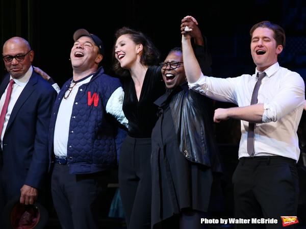 Reggie Jackson, Danny Burstein, Maggie Gyllenhaal, Whoopi Goldberg, Matthew Morrison  Photo