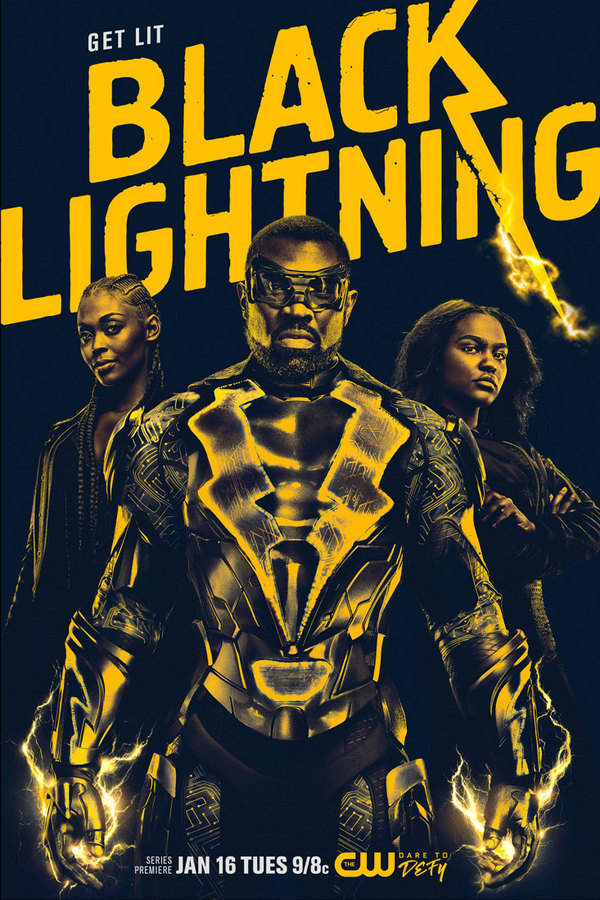 Photo Flash: The CW Unveils Official BLACK LIGHTNING Key Art