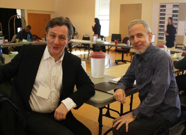 Alan Cox and Robert Joy Photo