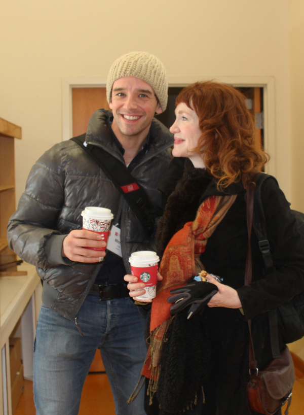 Michael Urie and Madeleine Potter