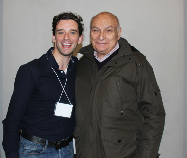 Michael Urie and Michael Kahn