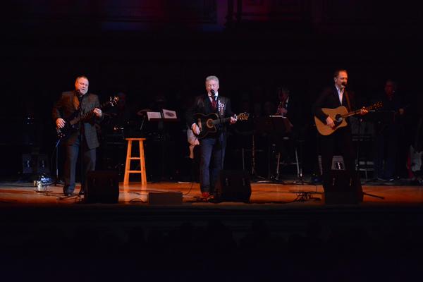 Steve Gatlin, Larry Gatlin and Rudy Gatlin