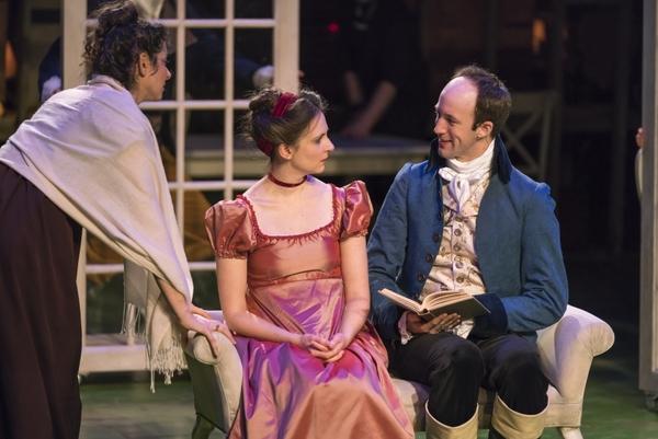 Lisa Birnbaum, Jessica Frey, and James Patrick Nelson Photo