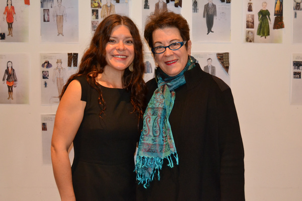 Playwright Mary Kathryn Nagle and Director Molly Smith Photo
