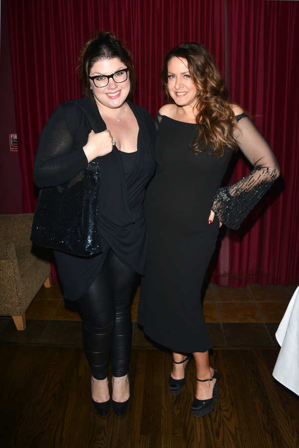 Jane Monheit and Joely Fisher