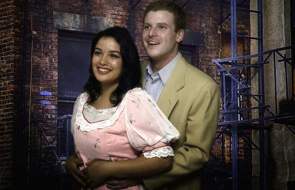 "Tara Keelen and Mason Kugelman in PinnWorth Productions' ""West Side Story."