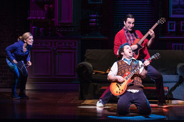 Photo Flash: Check Out Brand New Production Photos from SCHOOL OF ROCK - Now Starring Justin Collette and Analisa Leaming