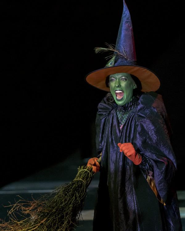 Catrin Aaron as The Wicked Witch of the West
