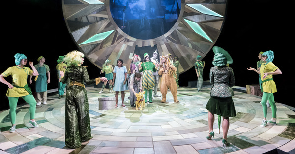 Photo Flash: First Look - Head Down the Yellow Brick Road with THE WIZARD OF OZ at the Crucible Theatre