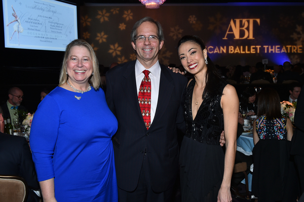 Gala Co-Chairs Avery and Andy Barth with ABT Principal Dancer Stella Abrera Photo