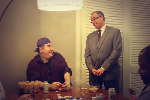 Neal Goldman (Oscar) and Lewis R. Jones (Felix)