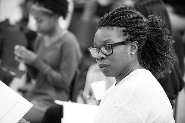 Photo Flash: Inside Rehearsal for THE HOMECOMING QUEEN at Atlantic Theater Company