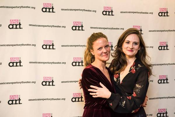 Maggie Adams McDowell (Elinor) and Jessica Frey (Marianne)