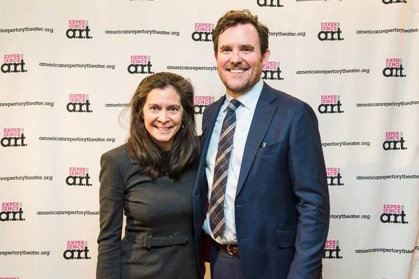 A.R.T. Artistic Director Diane Paulus with Bedlam Artistic Director and director of SENSE & SENSIBILITY, Eric Tucker
