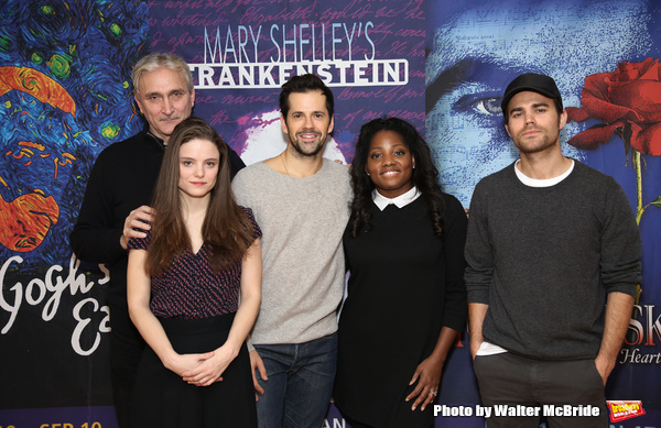Rocco Sisto, Mia Vallet, Robert Fairchild, Krysty Swann and Paul Wesley Photo