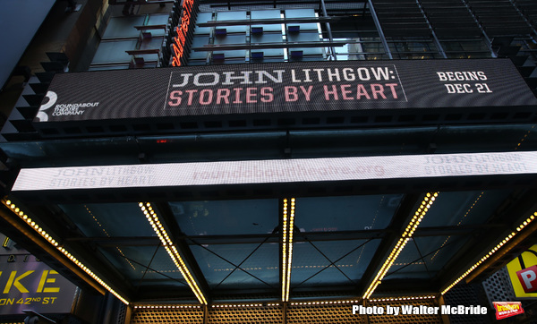 Up on the Marquee: JOHN LITHGOW: STORIES BY HEART