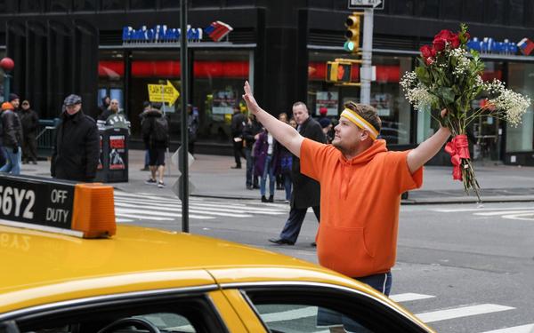 James Corden in Crosswalk The Musical in New York Cit Photo