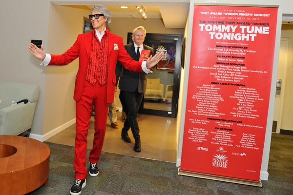 Tommy Tune and Peter Glebo