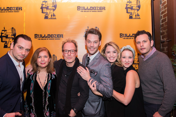 Photo Flash: Constantine Maroulis and More Celebrate BULLDOZER: THE BALLAD OF ROBERT MOSES Opening Off-Broadway