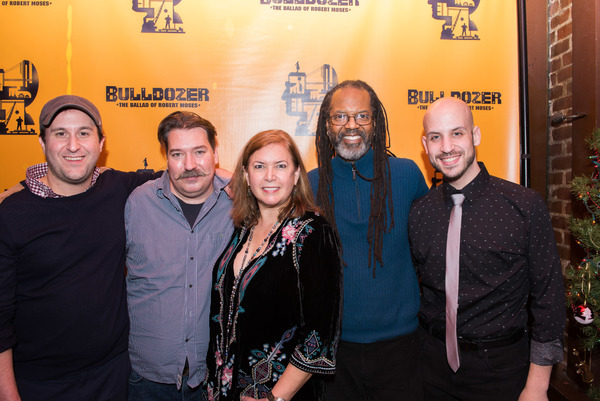 Rob Baumgartner, Jr. (music director), Bobby Frederick Tilley (costume designer), Karen Carpenter (director), Bill Toles (Audio Specialist) and Zach Blane (lighting designer)