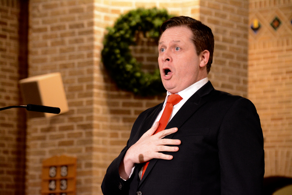 Photo Coverage: Anthony Kearns Performs at The 31st Annual St. Patrick Church Christmas Concert