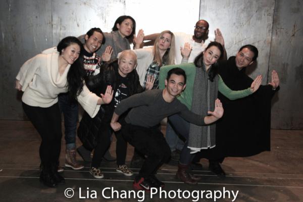 Kristen Faith Oei, Jin Ha, Celeste Den, Lori Tan Chinn, Clea Aslip, Jason Garcia Ignacio, Emmanuel Brown, Jess Fry and Jake Manabat