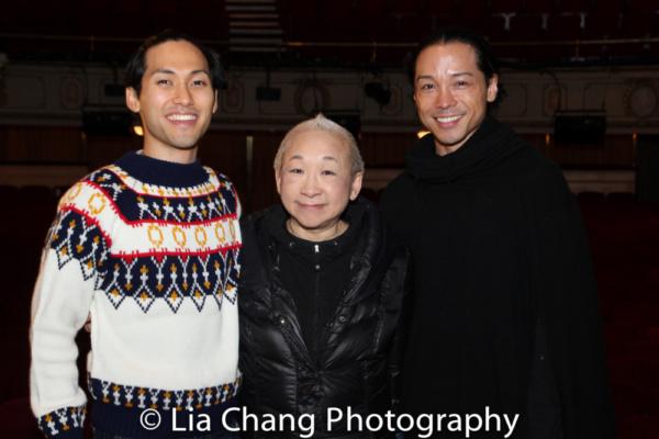 Jin Ha, Lori Tan Chinn, Jake Manabat