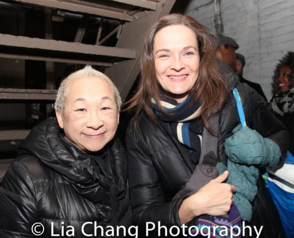 Lori Tan Chinn and Enid Graham