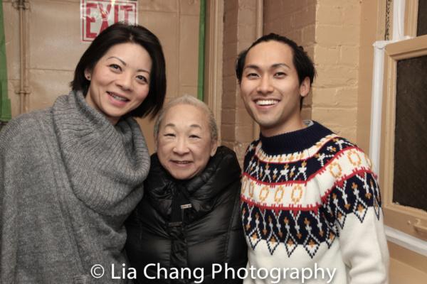 Celeste Den, Lori Tan Chinn, Jin Ha