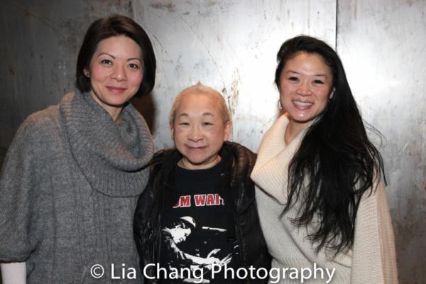Celeste Den, Lori Tan Chinn and Kristen Faith Oei
