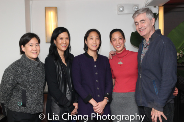 Jill Sung, Vera Sung, Chanterelle Sung, Heather Sung and director Steve James