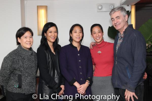 Jill Sung, Vera Sung, Chanterelle Sung, Heather Sung and director Steve James
