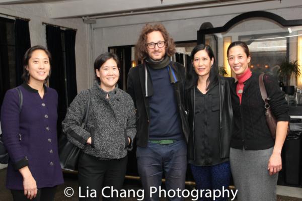 Chanterelle Sung, Jill Sung, Metrograph Cinema owner Alexander Olch, Vera Sung and Heather Sung
