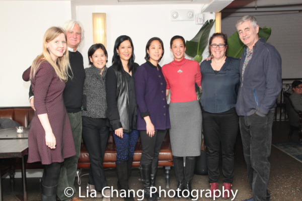 Co-producer Fenell Doremus, Producer Mark Mitten, Jill Sung, Vera Sung, Chanterelle Sung, Heather Sung, Julie Produer Goldman, Director Steve James