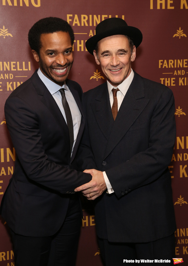 Andre Holland and Mark Rylance
