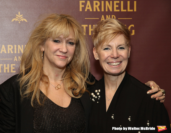 Sonia Friedman and Claire Van Kampen