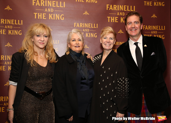 Sonia Friedman, Paula Marie Black, Claire Van Kampen and Neil Constable
