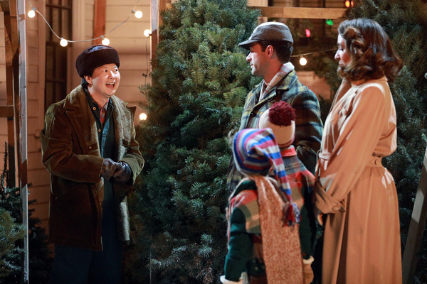 A CHRISTMAS STORY LIVE!: L-R: Cast members Ken Jeong,  Chris Diamantopoulos, Tyler Wladis, Andy Walken and Maya Rudolph during FOX's live musical event, A CHRISTMAS STORY LIVE!, airing Sunday, Dec. 17 (7:00-10:00 PM ET live/PT tape-delayed) on FOX. CR: