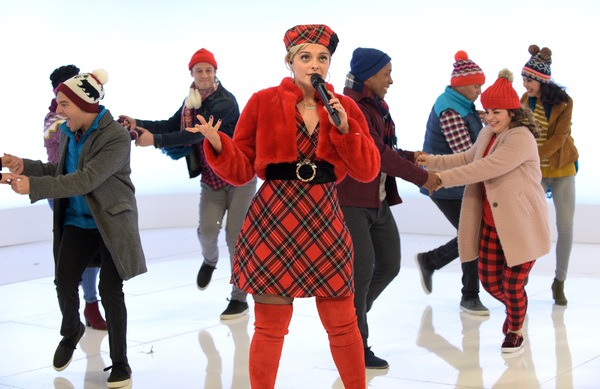 A CHRISTMAS STORY LIVE!: Bebe Rexha during FOX's live musical event, A CHRISTM Photo