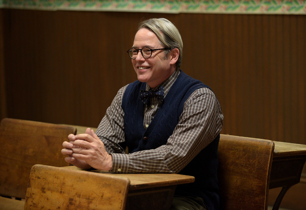 A CHRISTMAS STORY LIVE!: Cast member Matthew Broderick  during FOX's live musical event, A CHRISTMAS STORY LIVE!, airing Sunday, Dec. 17 (7:00-10:00 PM ET live/PT tape-delayed) on FOX. CR: Ray Mickshaw/ FOX