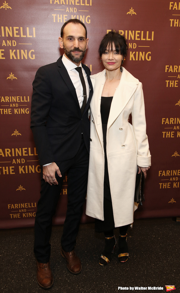 Andrew Rothenberg and Katrina Lenk Photo