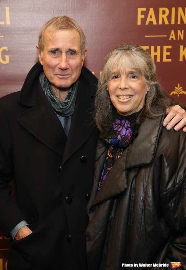 Jim Dale and Julie Schafler