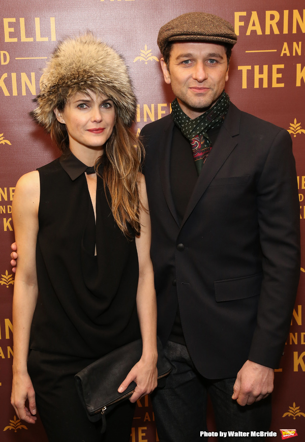 Keri Russell and Matthew Rhys  Photo