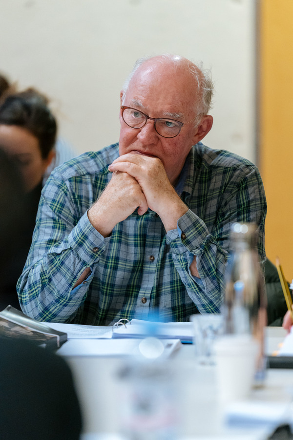 Photo Flash: In Rehearsal with Michelle Fairley, Ben Whishaw, and More in JULIUS CAESAR