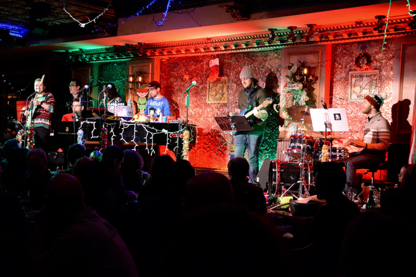 Joe Iconis and the band-Charlie Rosen (Trumpet/Keyboard), Rob Rokicki (Acoustic Guitar/Keyboard), Ian Kagey (Bass), Dennis Michael Keefe (Sax and Clarinet), Ashley Rodbro (Flute/Piccolo), Tom Horgensen (Drums) and Mike Rosengarten (Guitar)