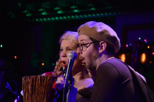 Amanda Flynn and Kevin Michael Murphy Photo