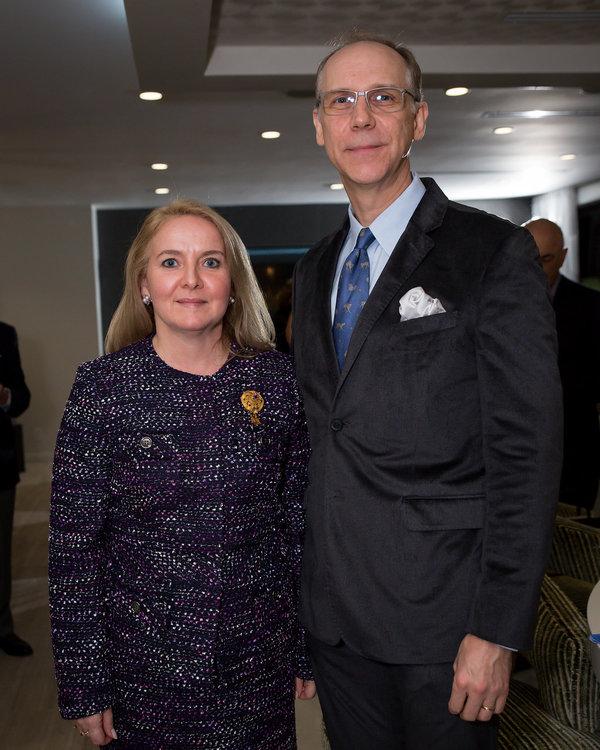 Karin and John Strasswimmer