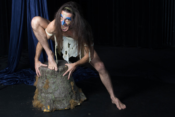 Giles Davies as Caliban. Jobsite Theater's production of The Tempest, playing the Straz Center in downtown Tampa Jan. 17 - Feb 11, 2018. Photos by Pritchard Photography. More: JobsiteTheater.org/Tempest.